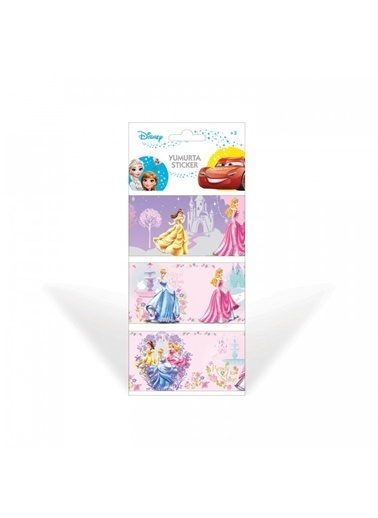 Disney Prensesler Yumurta Sticker Renkli